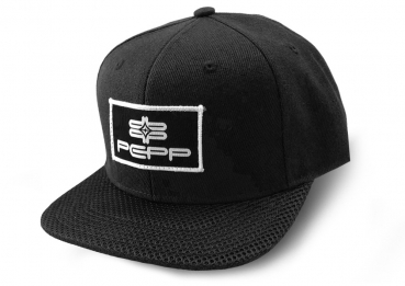 PEPP SNAPBACK CAP Black Patch
