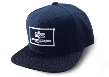 PEPP SNAPBACK CAP Navy Patch